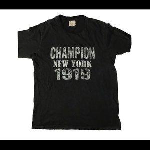 VINTAGE CHAMPION NEW YORK 1919 T SHIRT
